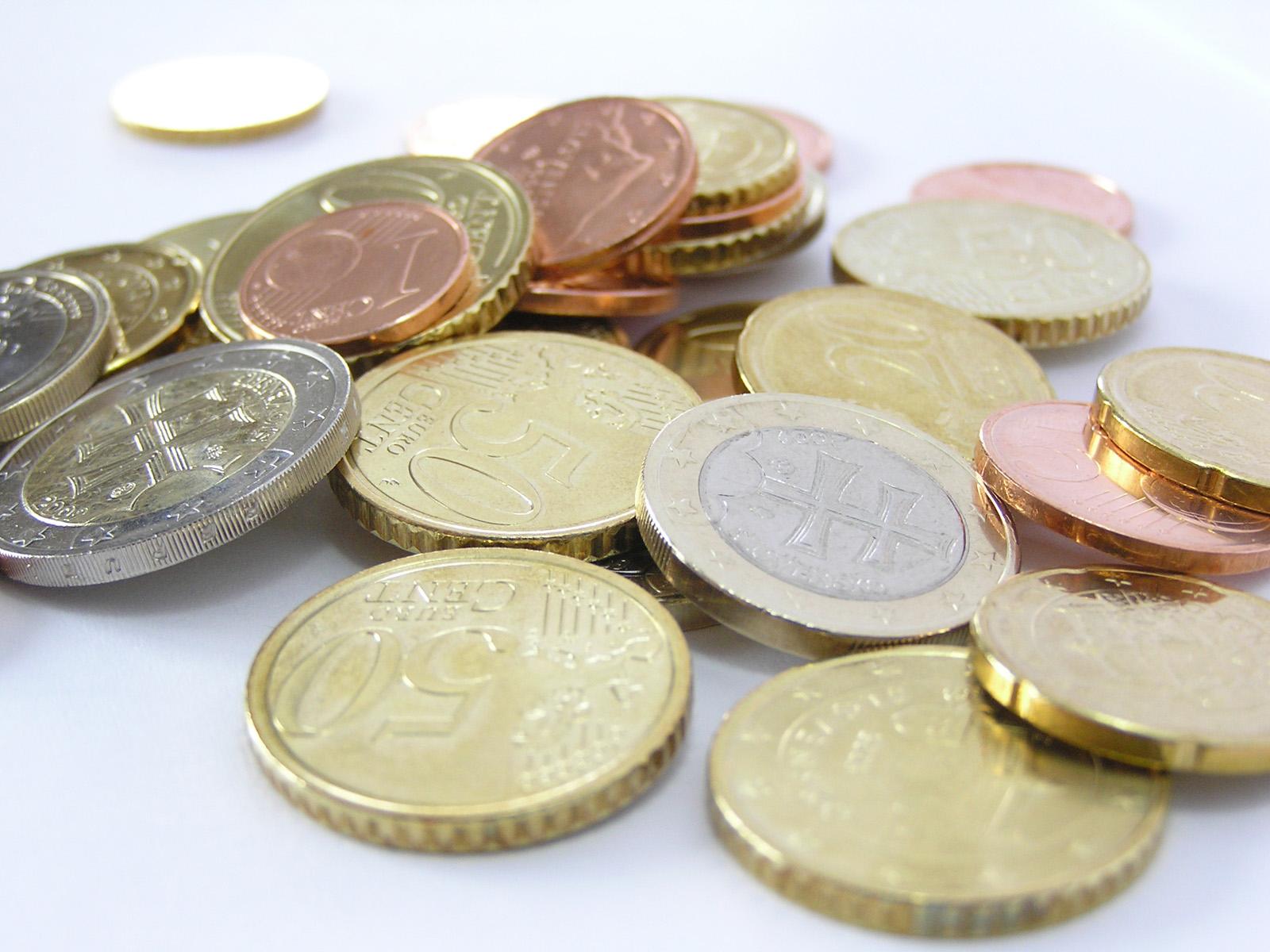 Geld muntstukken